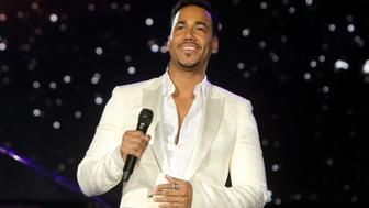 LAS VEGAS, NV - NOVEMBER 18:  Singer-songwriter Romeo Santos performs onstage during the 2015 Latin GRAMMY Person of the Year honoring Roberto Carlos at the Mandalay Bay Events Center on November 18, 2015 in Las Vegas, Nevada.  (Photo by John Parra/WireImage)