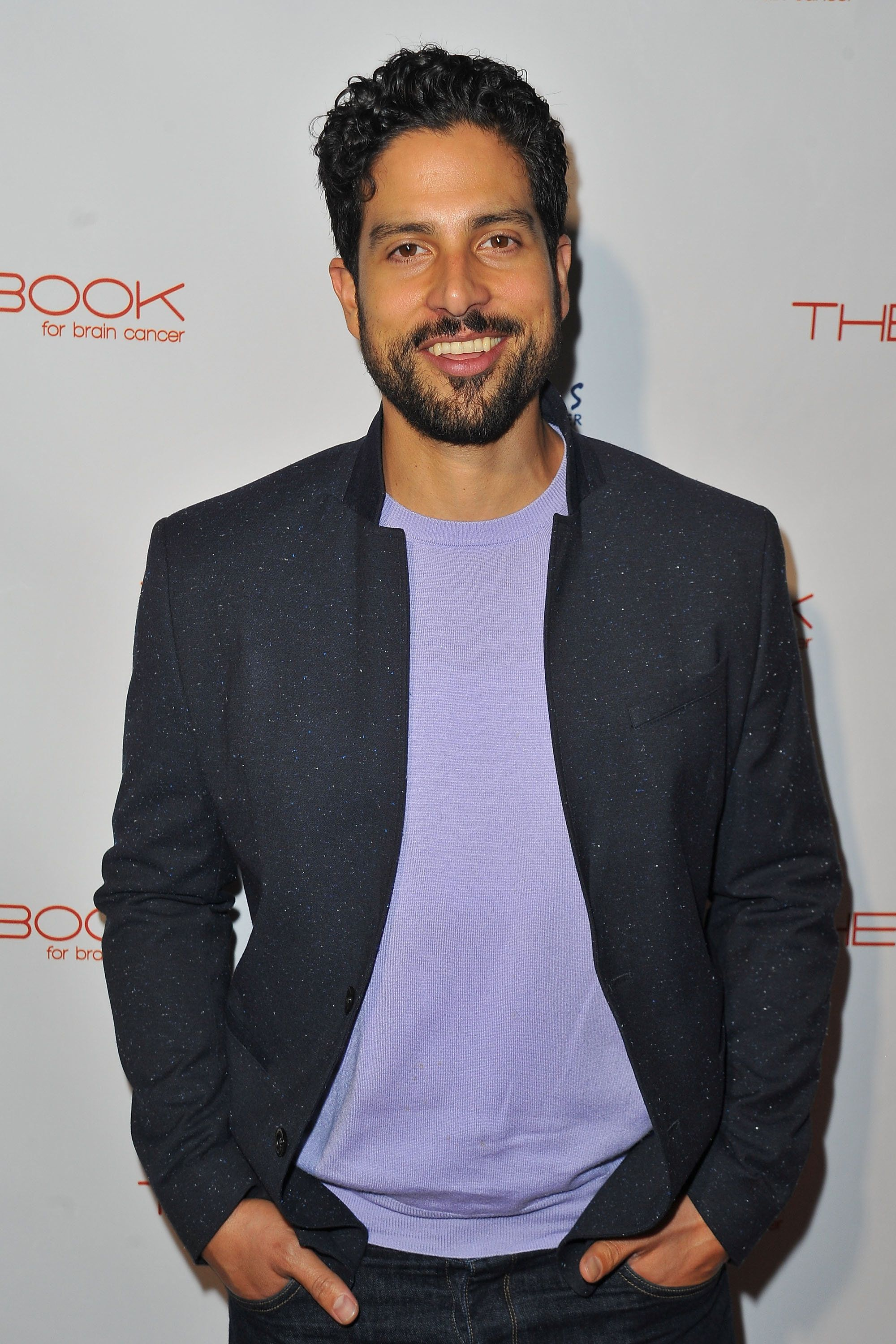HOLLYWOOD, CA - DECEMBER 03:  Actor Adam Rodriguez arrives at 'The Beauty Book For Brain Cancer' edition 2 launch party at Le Jardin on December 3, 2015 in Hollywood, California.  (Photo by Jerod Harris/WireImage)