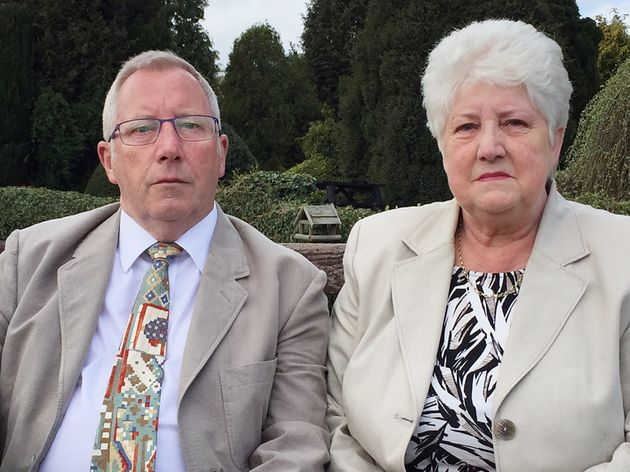 Keith and Margaret Wilson, whose son Paul