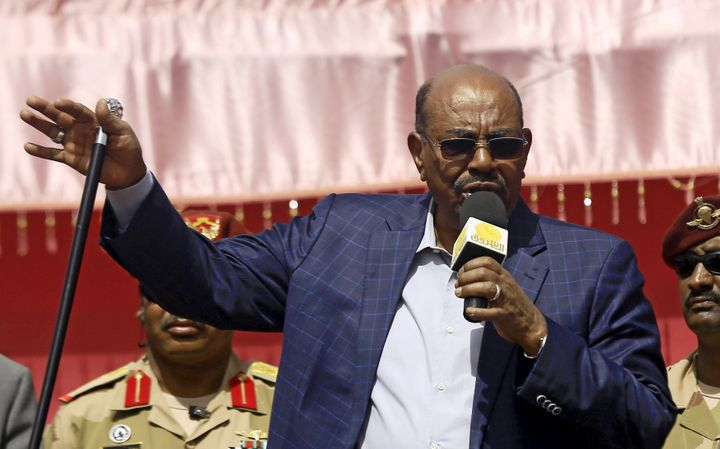Sudanese President Omar Bashir, who is wanted by the International Criminal Court for war crimes and crimes against humanity,
