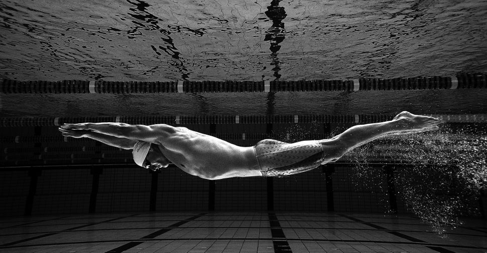 Brett Hawke during a feature shoot at Somerset College Pool on May 7, 2004, on the Gold Coast, Australia.