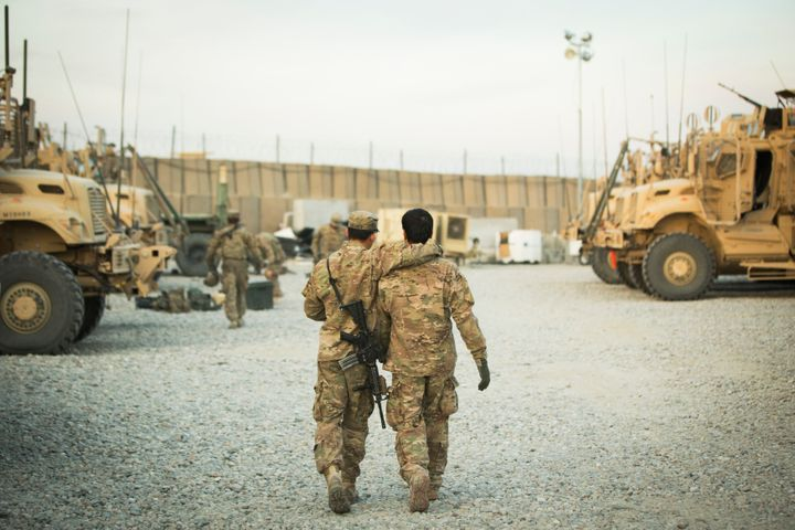 Afghan interpreters who worked with the U.S.soldiers now face death threats from the Taliban. The special immigrant vis