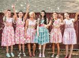 18 Bridal Parties Who Said 'Hell No' To High Heels