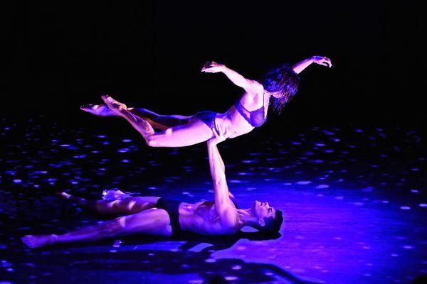 Kristine Bendul and Waldemar Quiñones-Villanueva