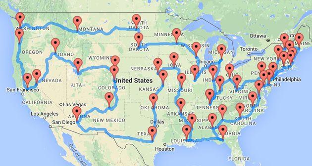 Il miglior viaggio on the road degli Stati Uniti che possiate mai