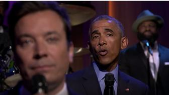 "Obama ""Slow Jams the News"" with Jimmy Fallon"