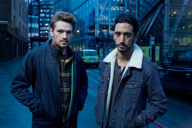 Mark Strepan and Ben Tavassoli are the leads in brand new drama 'New