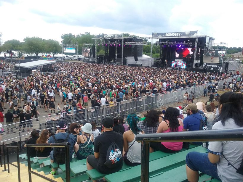 Festival-Goers Pack the MN State Fairgrounds to See Over 40 Hip-Hop Acts.