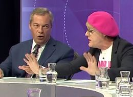 Question Time Audience Silence Farage And Izzard With Exasperated Putdown