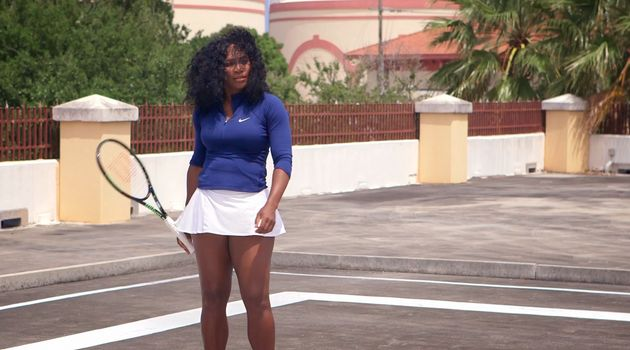 Serena Williams Fires Tennis Balls At Sexist Heckler 'For All Of Womenkind' In Hilarious