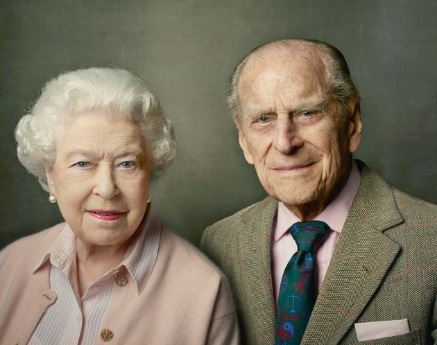 This new photographwas released on Prince Philip's 95th
