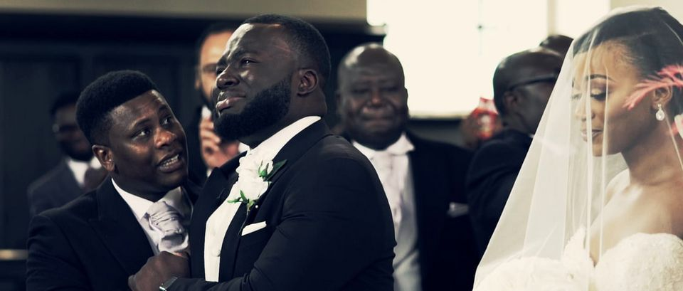 Groom Breaks Down In Tears When He Sees His Bride For The First