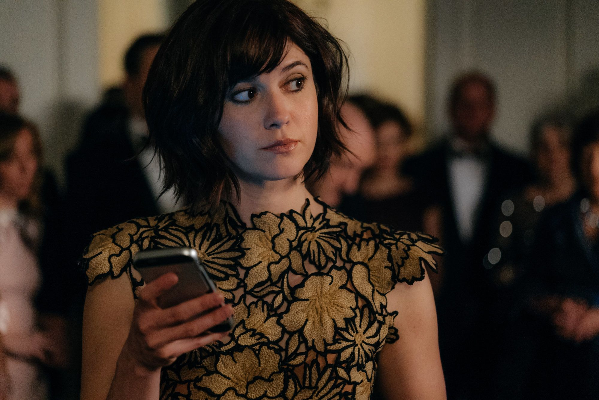 Mary Elizabeth Winstead as Laurel Healy, an unwilling member of a political family who quickly realizes something bizarre is