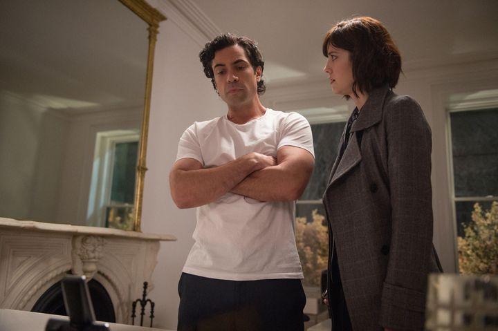 Danny Pino as Sen. Luke Healy and Mary Elizabeth Winstead as Laurel Healy.