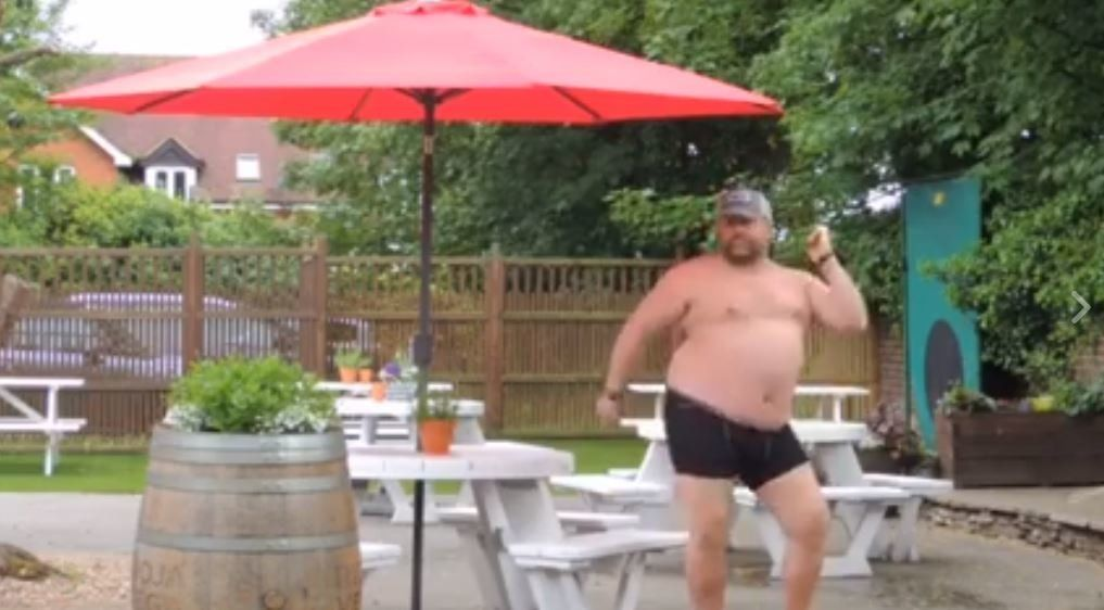 Pub Landlord Dancing Around The Beer Garden In His Pants Will Get You Ready For The