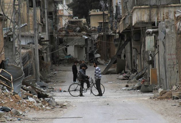 The United Nations said Friday that foodaid was delivered to besieged citizens of Daraya for the...