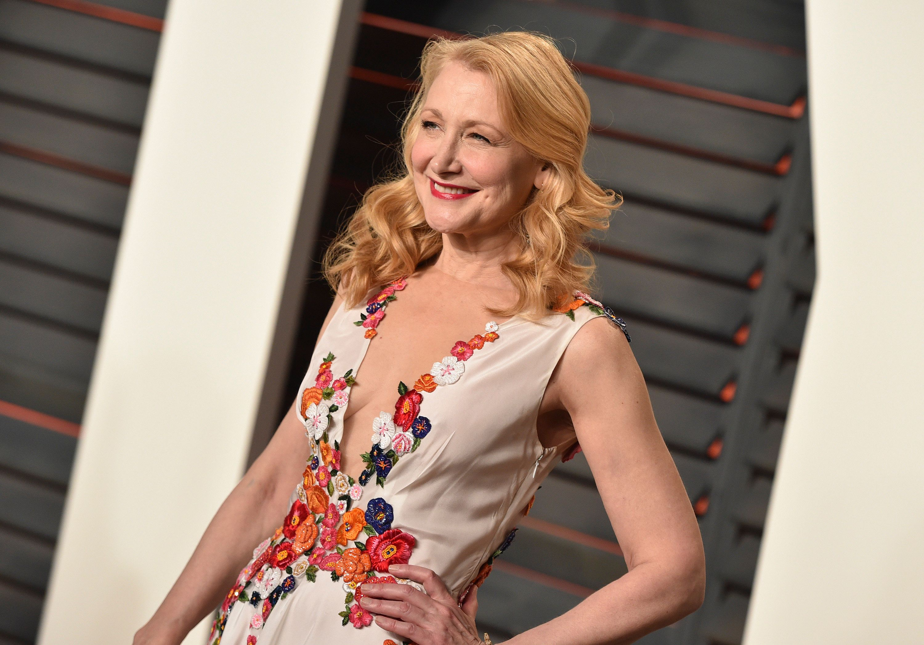 """Patricia Clarkson is over""""moviesmade starring 50 men and one woman."""""""