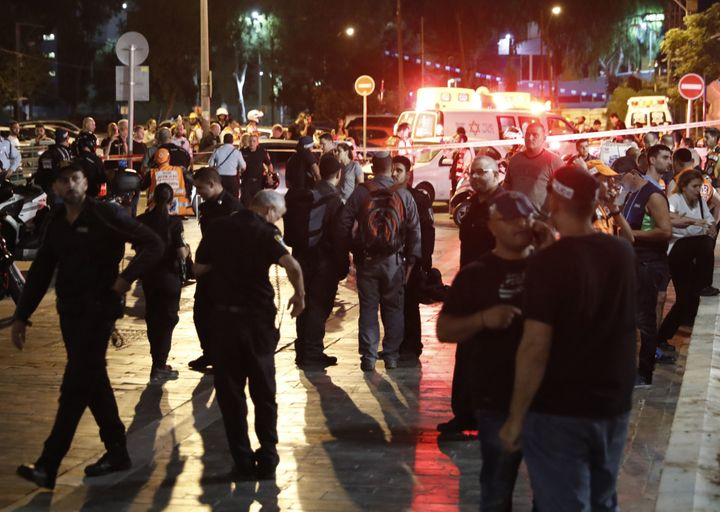The move came a day after a Palestinian gun attack that left four Israelis dead in Tel Aviv.