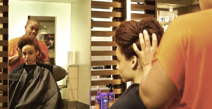 Teamed up with My Black is beautiful to help inspire women to share their #hairtruth