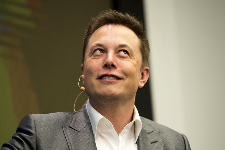 """Elon Musk met his match at a""""Silicon Valley""""after-party."""