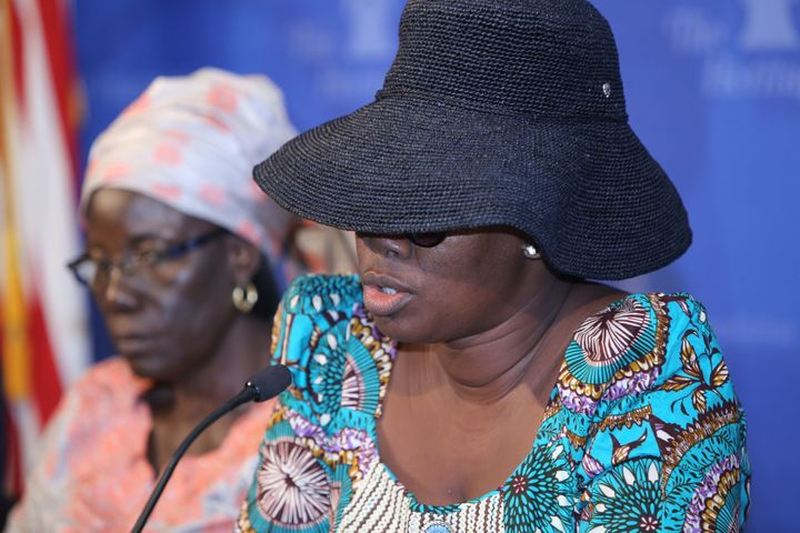 <i>Mary, the mother of one of Nigeria's&nbsp;kidnapped Chibok girls, shares her story for the first time in Washington DC&nbs