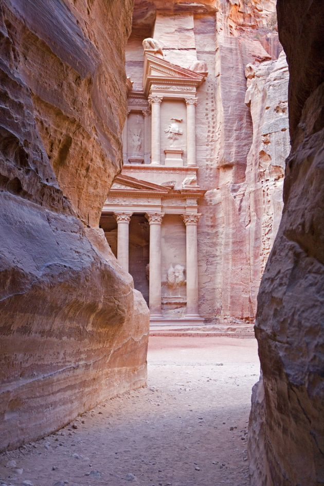 Petra was established by the Nabataeans in