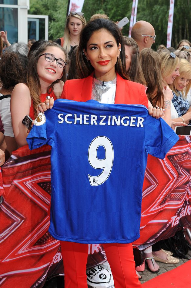 Scherzy was gifted her very own Leicester City