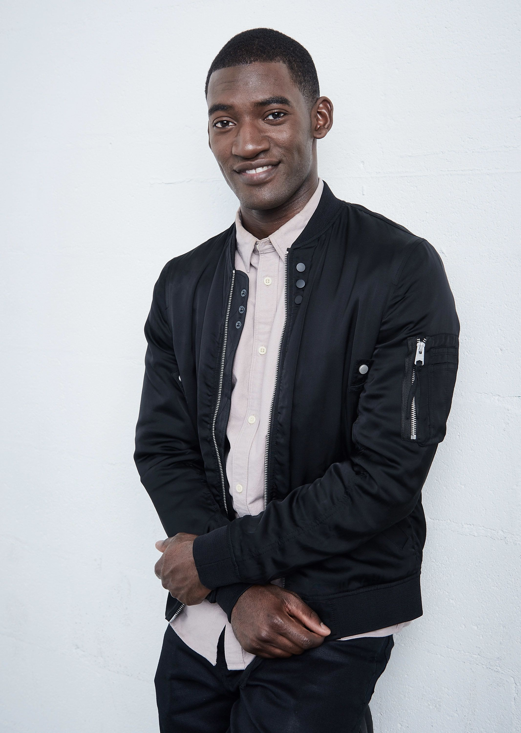NEW YORK, NY - APRIL 21:  Actor Malachi Kirby from 'Roots' poses at the Tribeca Film Festival Getty Images Studio on April 21, 2016 in New York City.  (Photo by Larry Busacca/Getty Images for the 2016 Tribeca Film Festival )