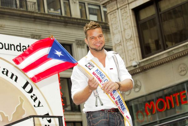 Ricky Martin reigned as king at the 2007National Puerto Rican Day Parade.