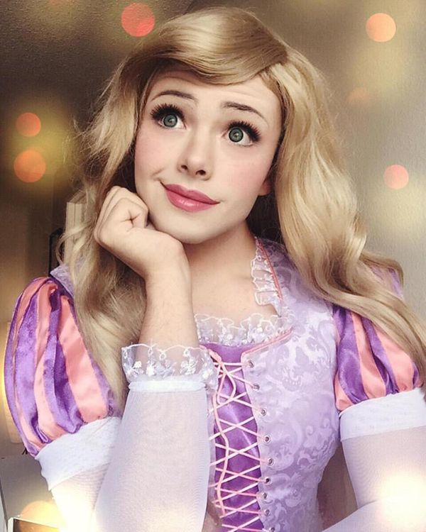 """It doesn't matter what Gender, race, or species you are, cosplay will always be for you. So embrace your inner princess and"