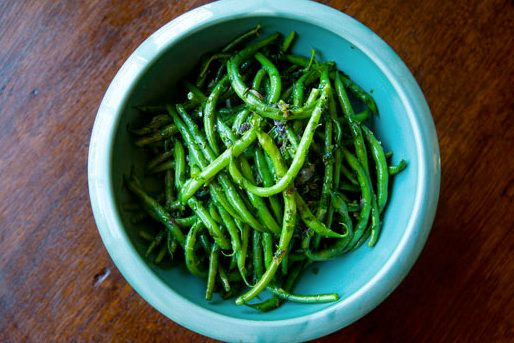 "<strong>Get the <a href=""http://www.simplyrecipes.com/recipes/french_green_beans_with_butter_and_herbs/"" target=""_blank"">Fren"