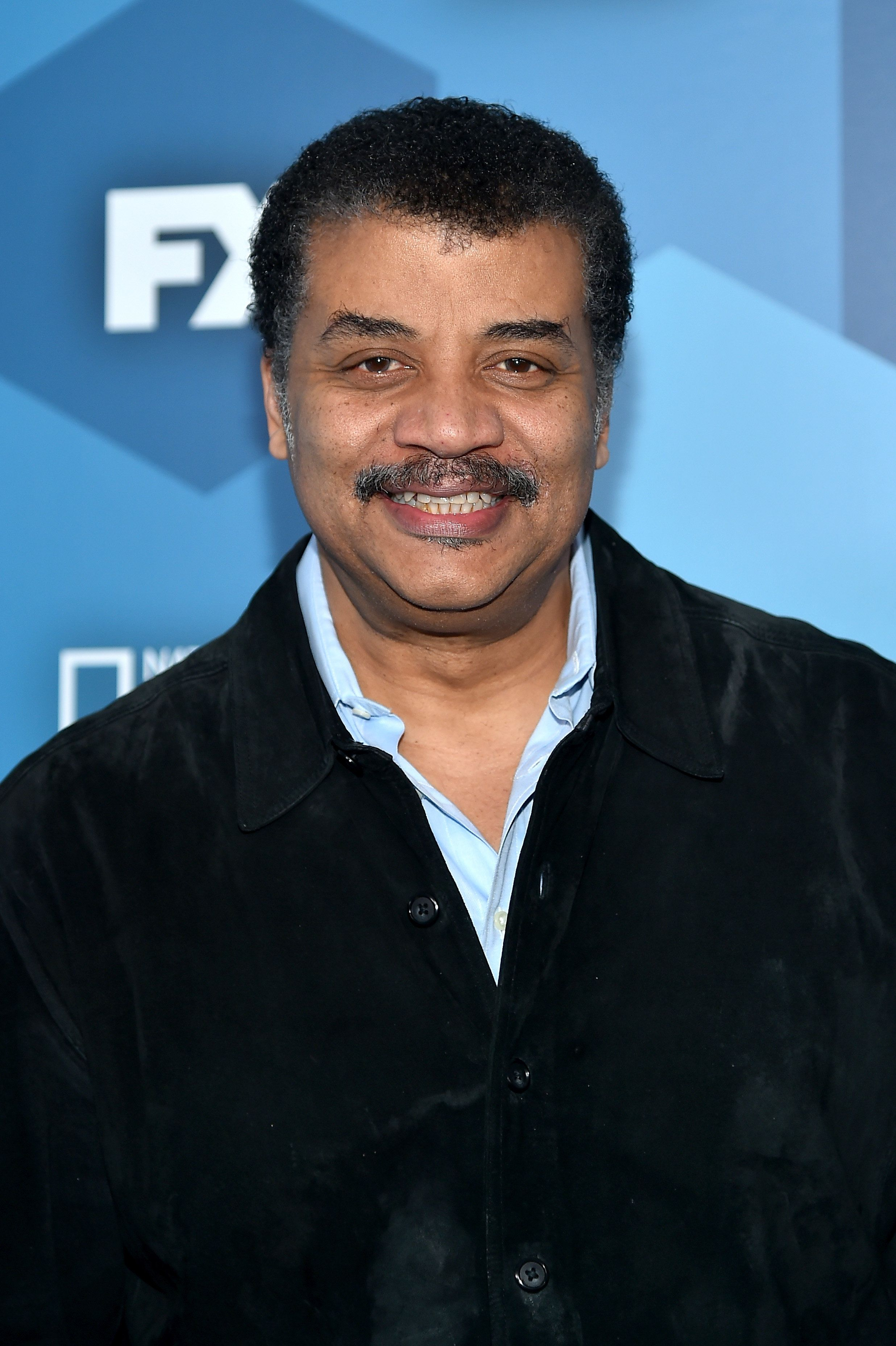 NEW YORK, NY - MAY 16:  Neil deGrasse Tyson attends FOX 2016 Upfront at Wollman Rink on May 16, 2016 in New York City.  (Photo by Ben Gabbe/Getty Images)