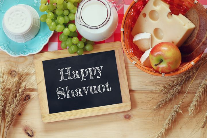 It's customary for Jewish families to eat dairy foods on Shavuot.