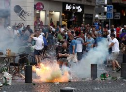 Shocking Scenes As Euro 2016 England Fans Clash With Police In Marseille. Again.