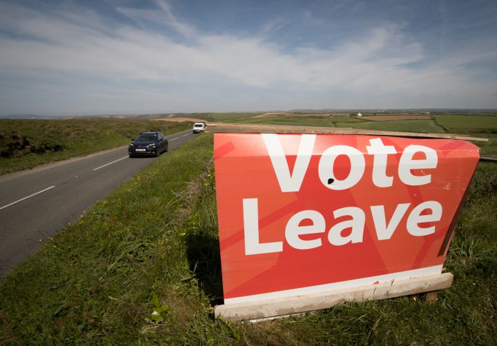 Apoll by ORB for The Independent newspaper showed that Brits wanting to leave the European Union are leading by 10 poin
