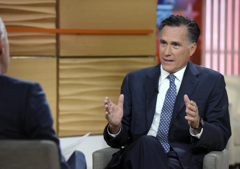 Mitt Romney: A Trump Presidency Would Spawn 'Trickle-Down