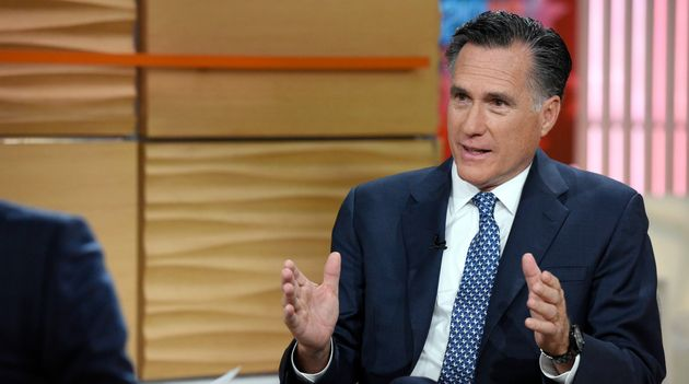 Romney says Trump will change America with 'trickle-down racism'