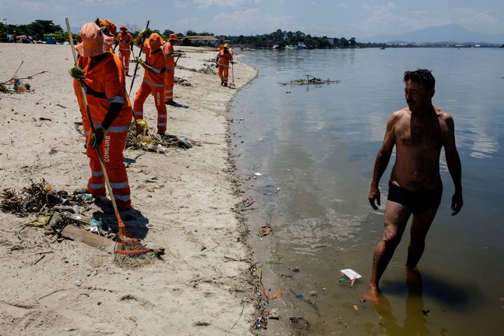 Super Bacteria Found At Brazil Olympic Venues Beaches Huffpost