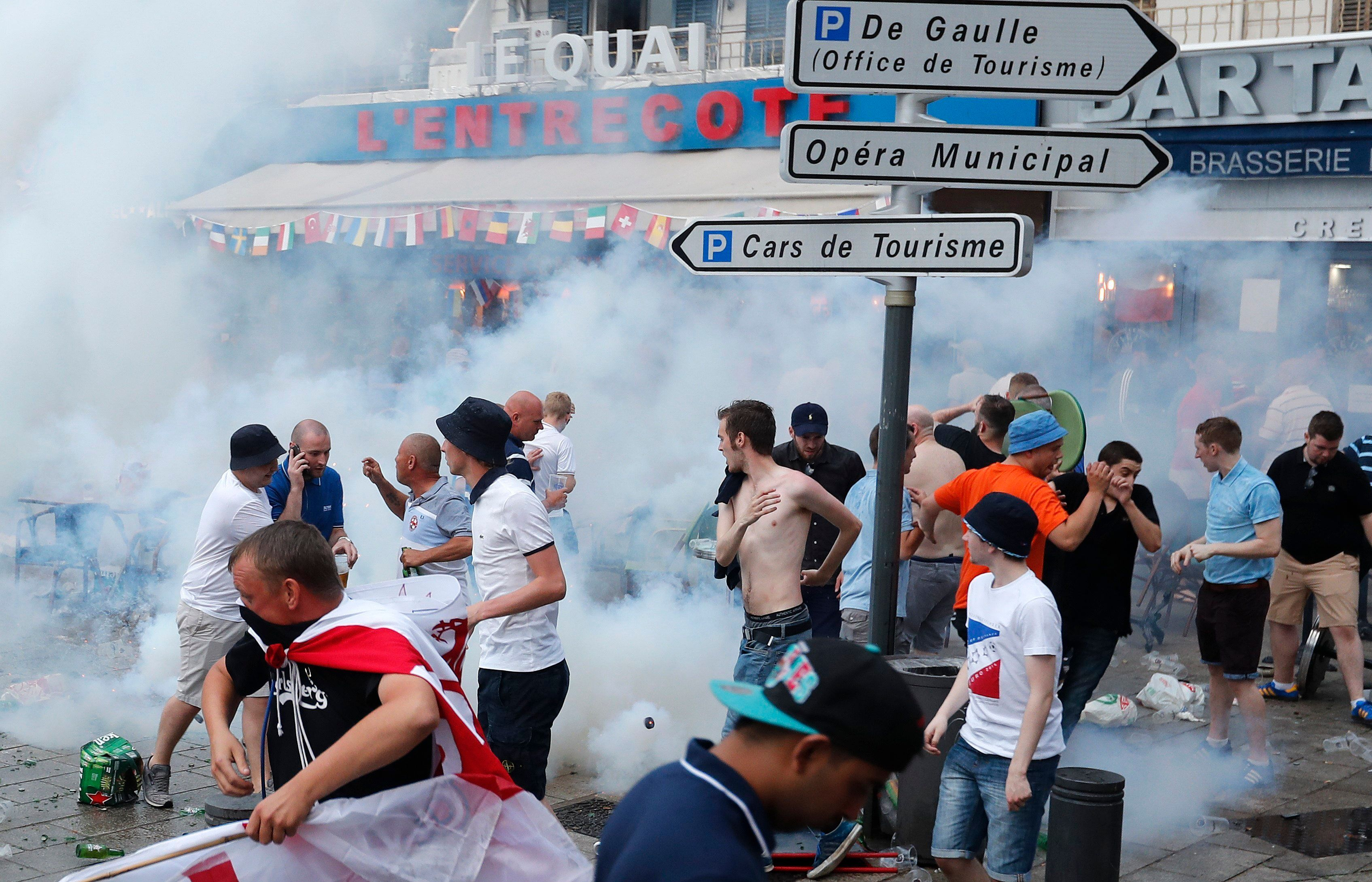 England Fans Chant 'F*** Off Europe, We're All Voting Out' As Euro 2016 Violence