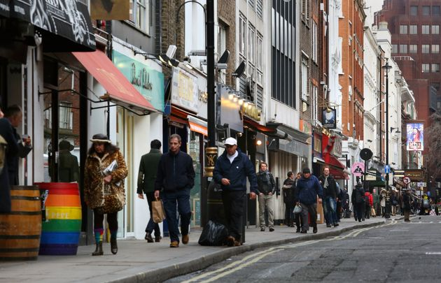 Bars on Soho's Old Compton Street will stop serving drinks at 7pm on Monday following the attack in