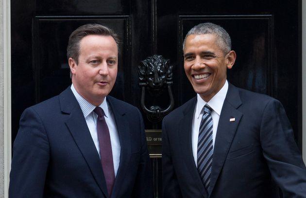 David Cameron and Barack