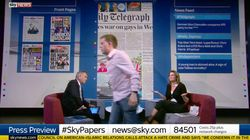 Sky's Presenter Expresses 'Regret' That Owen Jones Walked Out On Live Paper