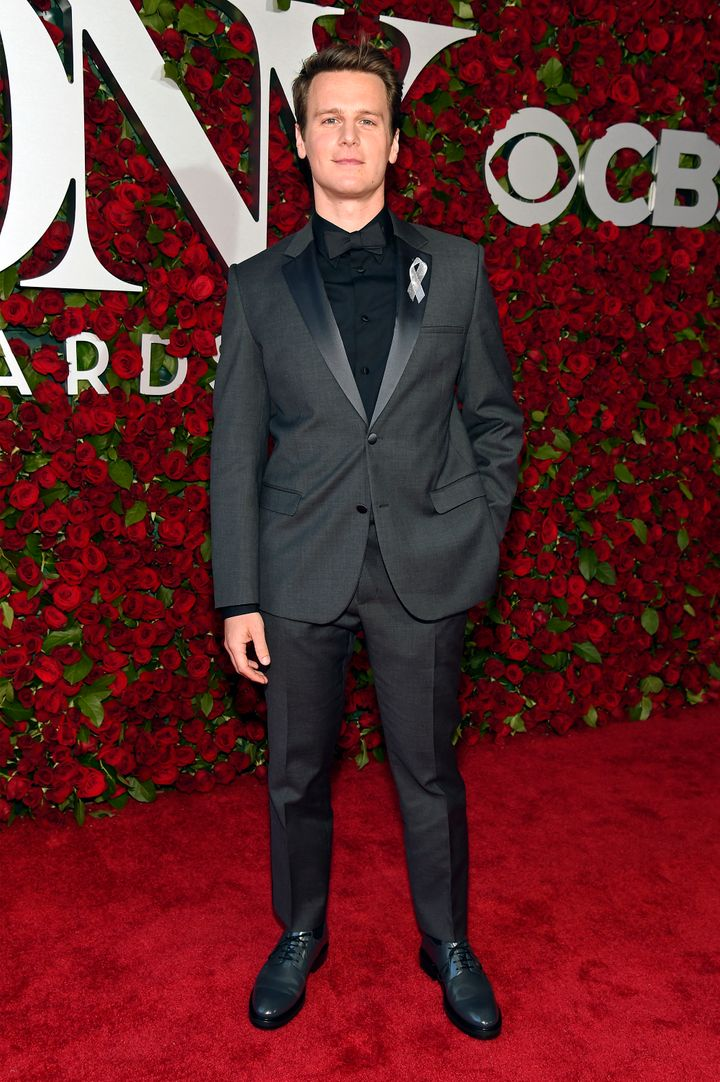 Jonathan Groff attends the 70th Annual Tony Awards at The Beacon Theatre.