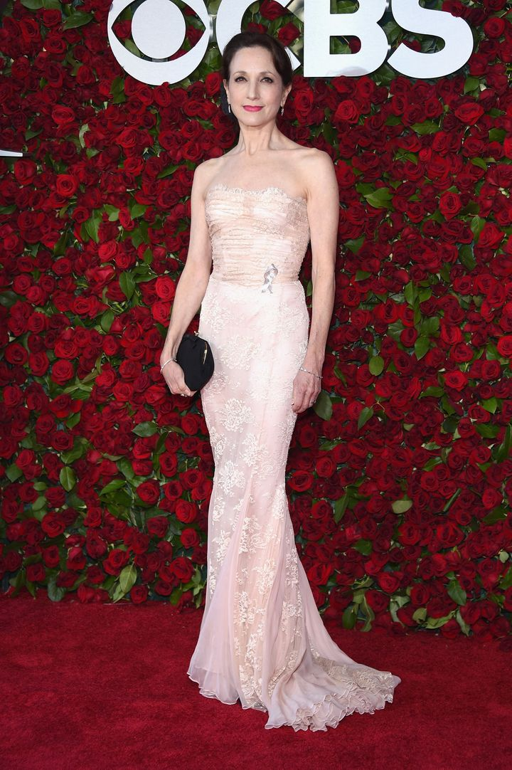 Bebe Neuwirth attends the 70th Annual Tony Awards at The Beacon Theatre.