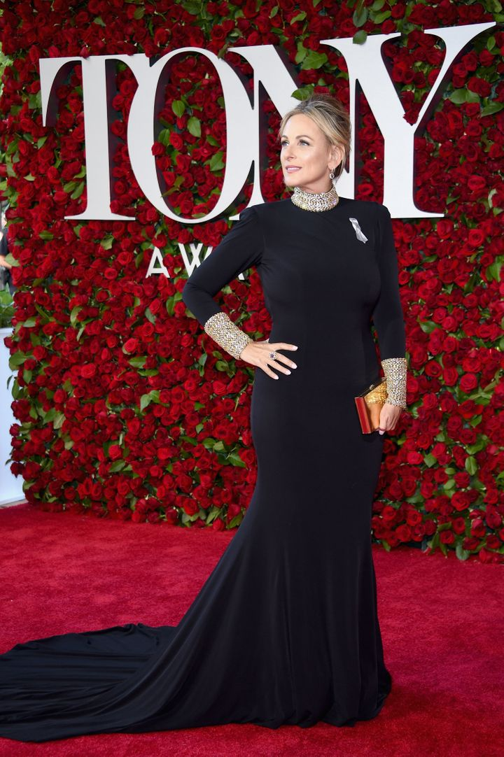 Marlee Matlin attends the 70th Annual Tony Awards at The Beacon Theatre.