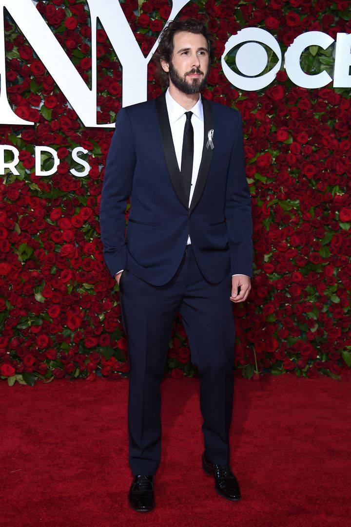 Josh Groban attends the 70th Annual Tony Awards at The Beacon Theatre.