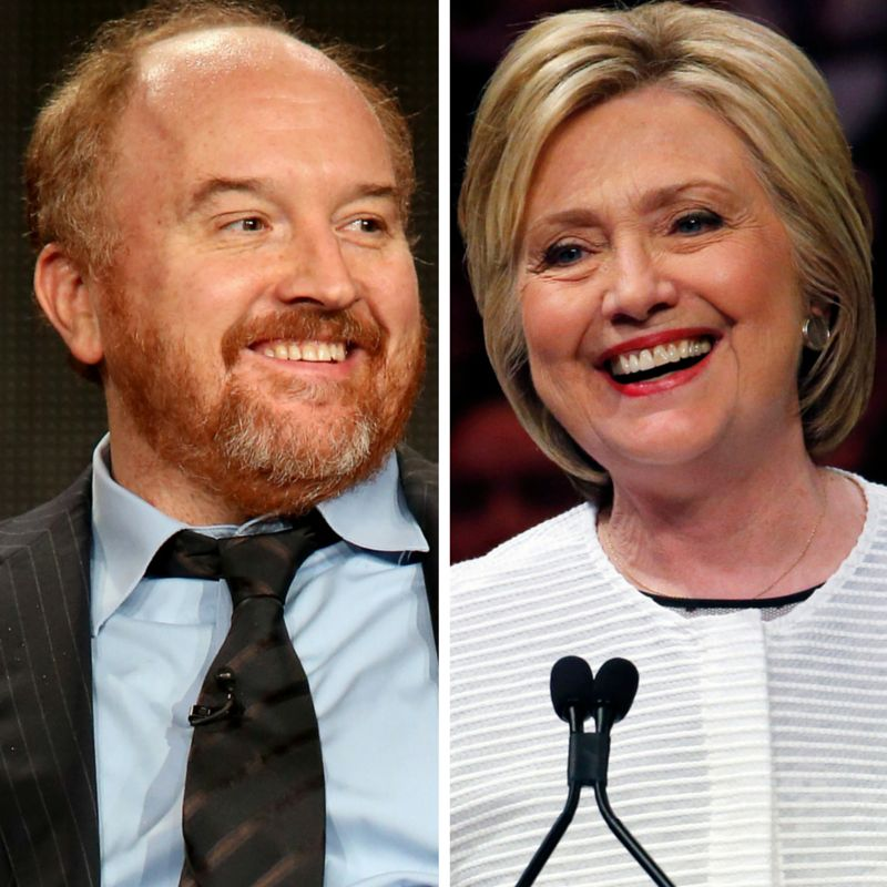 Louis C.K. Explains Why Hillary Is Qualified In One Simple