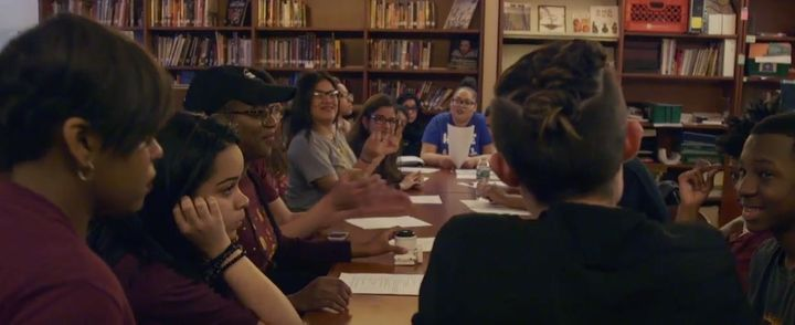 <i></i>Students of IntegrateNYC4Me discuss their advocacy work.