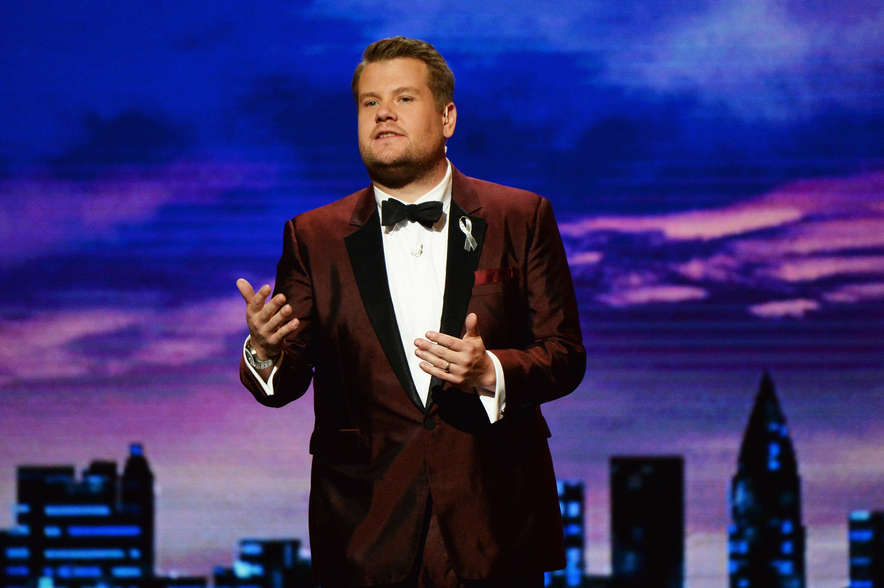 James Corden Opens Tony Awards With Touching Orlando