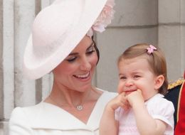 Princess Charlotte Rocking Her Balcony Debut In Pictures